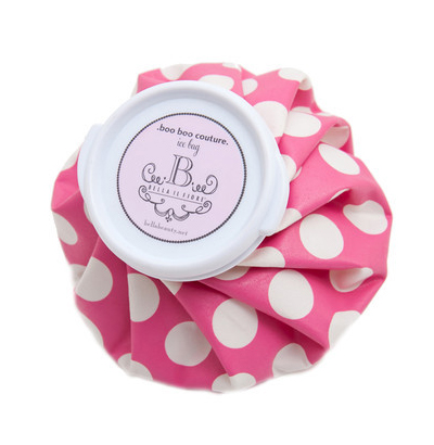 Boo Boo Couture Ice Bag (Pink Polka)