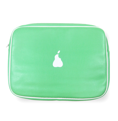 """Byte"" Laptop Bags - Pear"