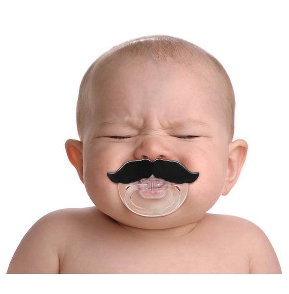 CHILL BABY Mustache Pacififer