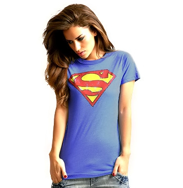 <b>Junk Food</b> Superman Logo Tee