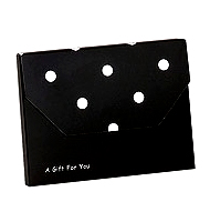 Polka Dot Gift Card Holder