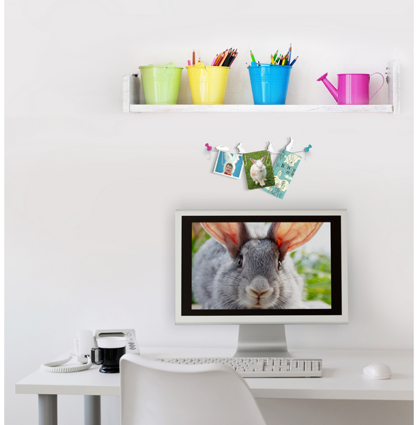 BUNNY TRAIL Picture Hanger