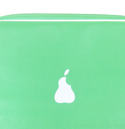 """Byte\"" Laptop Bags - Pear"