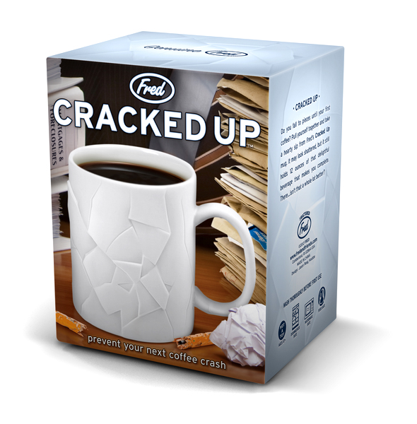 CRACKED UP \'Shattered\' Mug