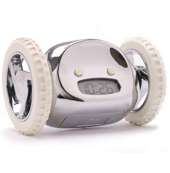 Clocky® Chrome Alarm Clock