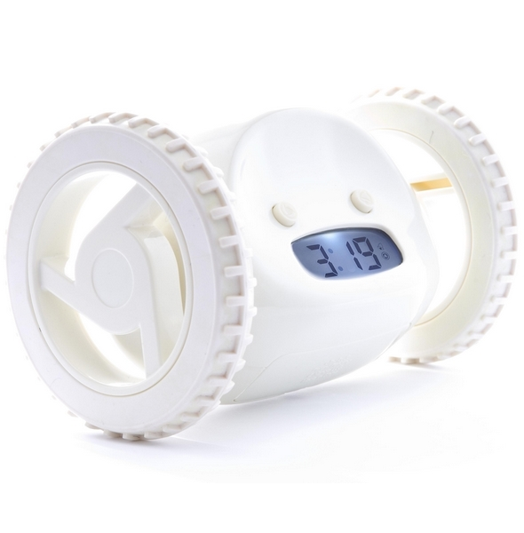 Clocky® Alarm Clock - Almond White