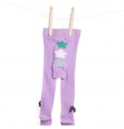 Lilly + Sid™ Baby Girl Lilac Tights